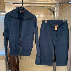 Blue Puma Shorts Sweatsuit